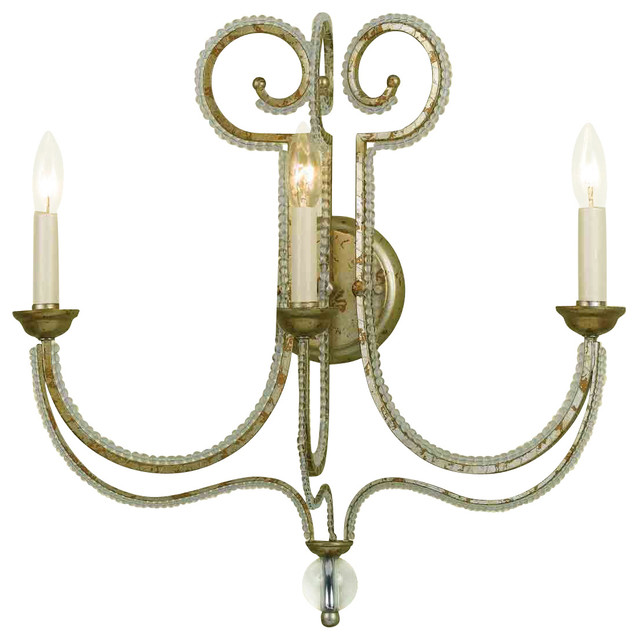 Candice Olson 6738-3W Camerson Soft Gold Wall Sconce - Contemporary - Wall Sconces - by Littman ...