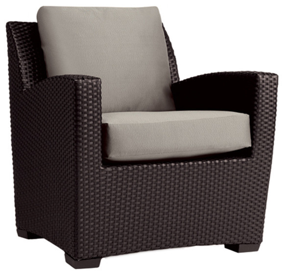 Brown Jordan Fusion Club Chair Contemporary Outdoor Lounge Chairs by Br
