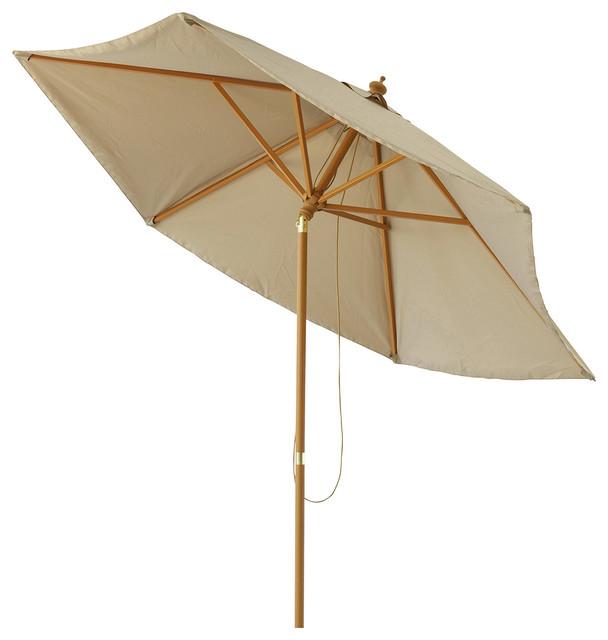 taupe tilt parasol palma traditional parasols by maisons du monde. Black Bedroom Furniture Sets. Home Design Ideas