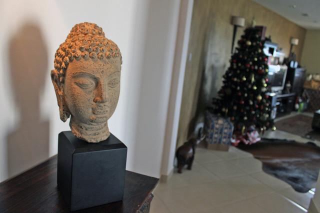 Buddha Statuette Asian Home Accessories Decor
