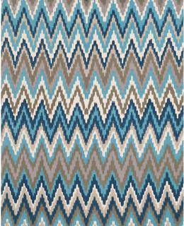 Safavieh Clearance, Cedar Brook CDR145C, 5'x8'Teal - Contemporary ...