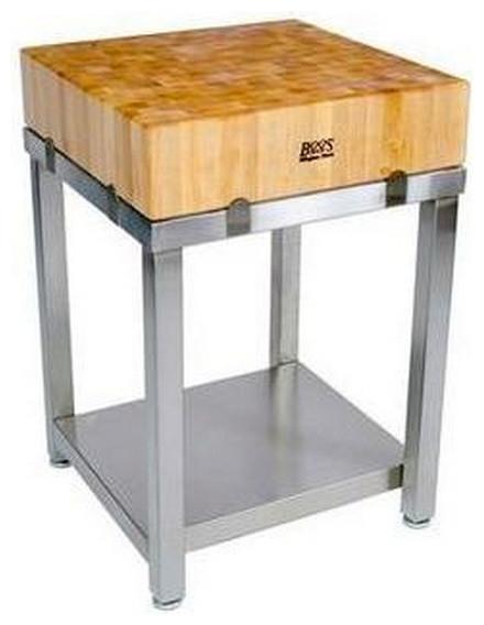 Boos hackblock modern kücheninseln küchenwagen sonstige