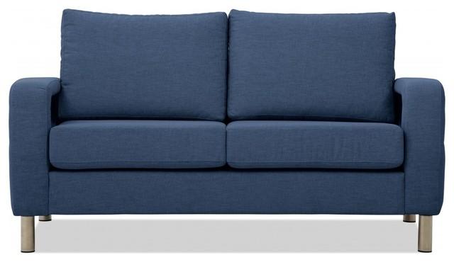 2 sitzer sofa omnia 222 i blau modern sofas by. Black Bedroom Furniture Sets. Home Design Ideas