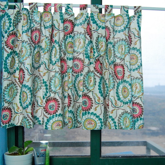 Contemporary Kitchen Curtains : ... Kitchen Window Curtain Bathroom Curtain contemporary-shower-curtains