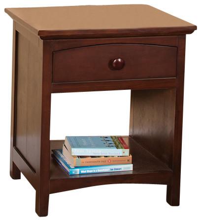 astoria hardwood nightstand coffee nightstands and