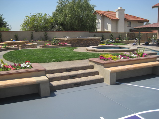 Mulch Entire Backyard : complete backyard remodeling @walnut