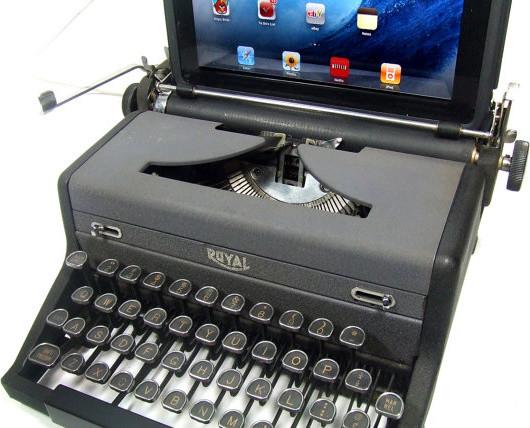 Usb Typewriter Computer Keyboard Royal Desk Accessories
