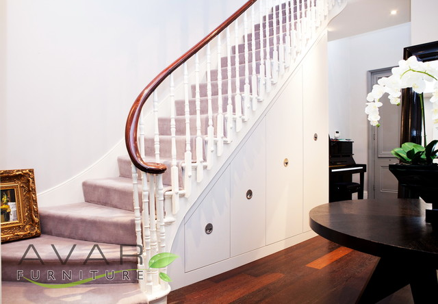 under stairs storage solutions in london staircase. Black Bedroom Furniture Sets. Home Design Ideas