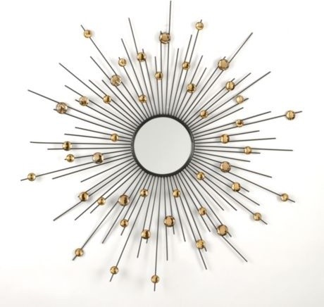 Acrylic Sunburst Mirror Modern Wall Mirrors By