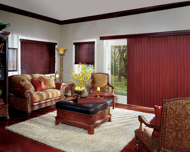 Hunter Douglas Vertical Blinds Contemporary