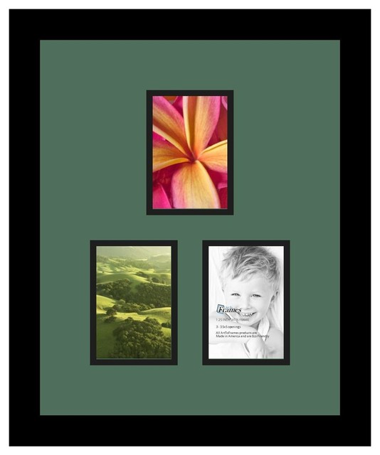 Arttoframes collage photo frame with 3 openings for Modern collage frame