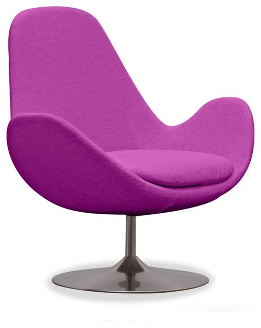 loungesessel houston pink niedrig mid century sessel. Black Bedroom Furniture Sets. Home Design Ideas