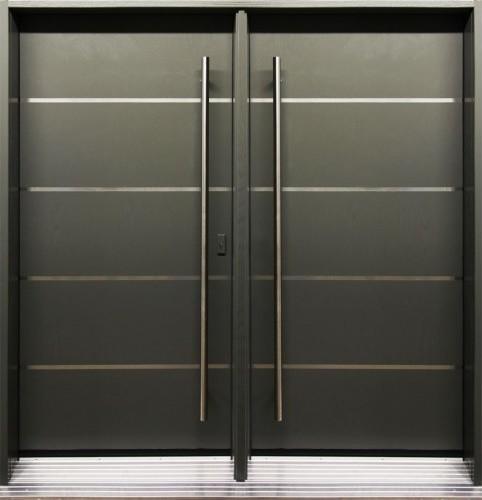 Modern front entry doors modern front doors toronto for Back entry doors for houses