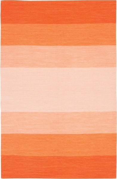 Orange Ombre India Rug By Chandra Rugs Modern Rugs