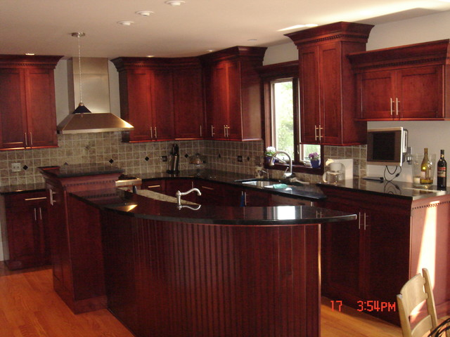 Granite Countertops Contemporary Kitchen Countertops