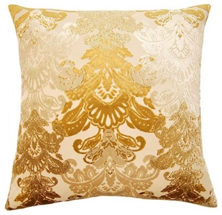Modern Floral Throw Pillows : York, Floral Pillow - Contemporary - Decorative Pillows - by Square Feathers, Rhome Living LLC