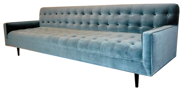 M N Originals Tufted Sofa Traditional Sofas By 1stdibs