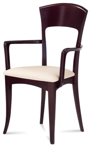 giusy dining arm chair set of 2 modern dining chairs