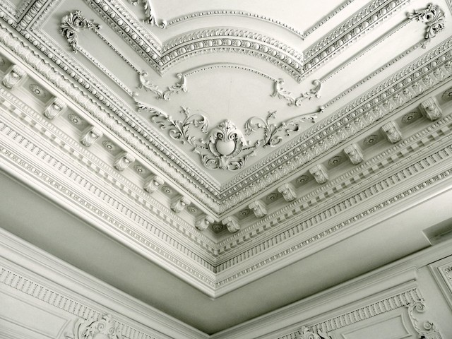 Custom ceiling design by jp weaver co traditional for French ceiling design