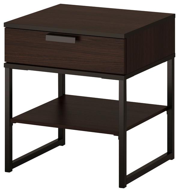 trysil bauhaus look nachttische von ikea. Black Bedroom Furniture Sets. Home Design Ideas