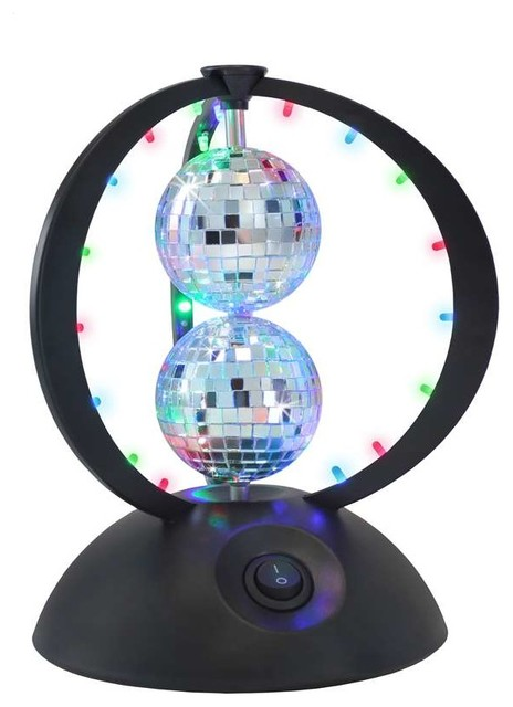 Lumisource Novelty Lighting : LumiSource Disco Planet in Multi - Eclectic - Novelty Lighting - by ShopFreely