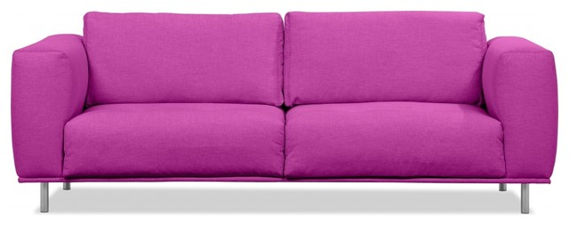 3 sitzer sofa liberty pink modern sofas by fashion4home gmbh. Black Bedroom Furniture Sets. Home Design Ideas