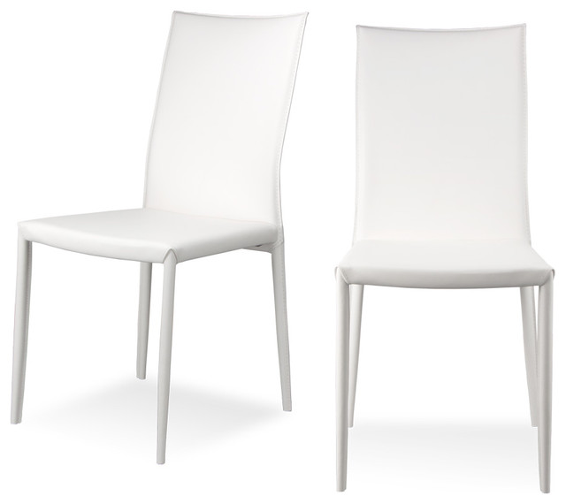 Gallery For > Modern White Chairs