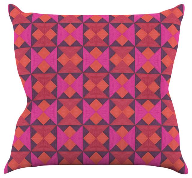 Throw Pillow Quilt Pattern : Empire Ruhl