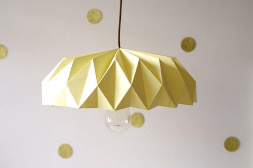 Un Abat Jour En Origami Tendance R Aliser Vous M Me