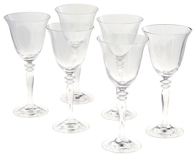 harmony coffret de 6 verres eau contemporain verre vin et fl te champagne par alin a. Black Bedroom Furniture Sets. Home Design Ideas