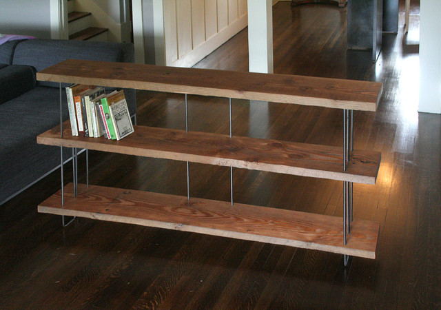 Modern Industrial Bookcase by Birdloft - Modern - Bookcases - by Etsy