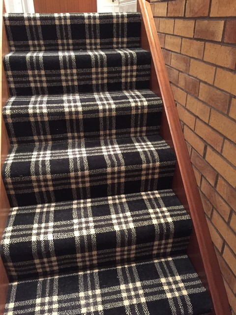 Tartan Carpet Contemporary Northern Ireland By
