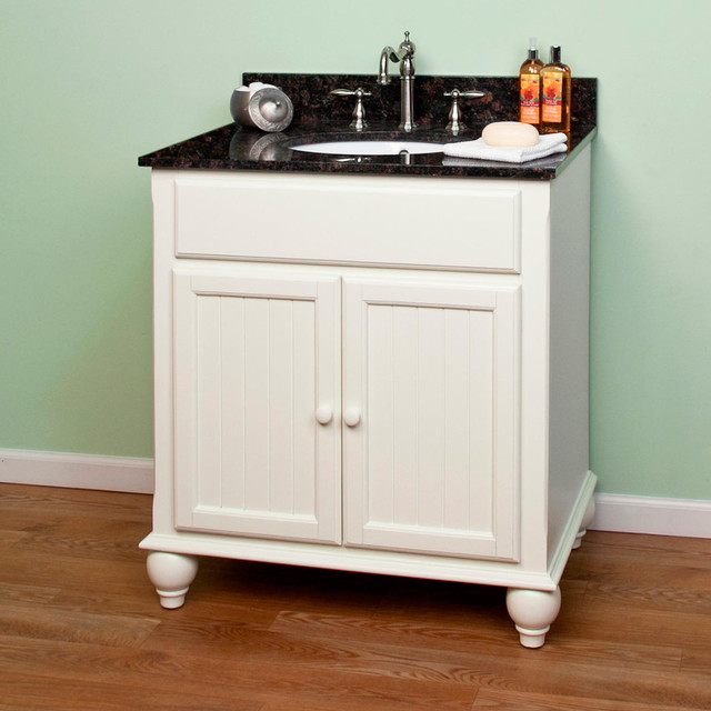 30 Daulton Creamy White Vanity For Undermount Sink Transitional Bat