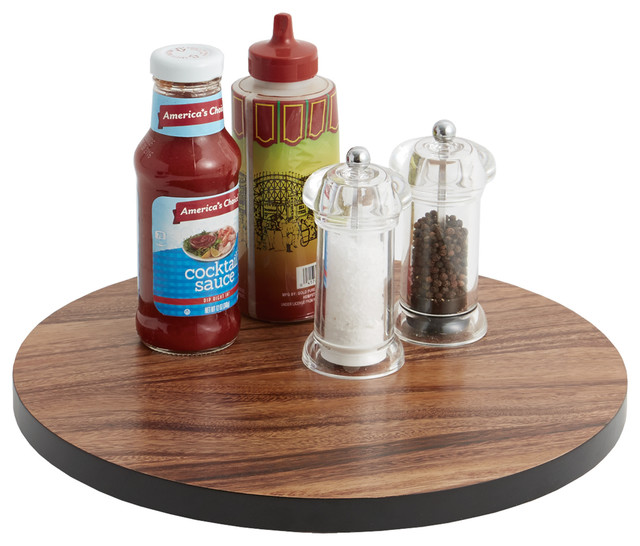 Acacia Lazy Susan - Modern - Tabletop Accessories - by Woodard & Charles