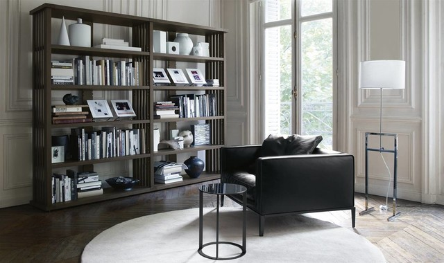 Maxalto contemporary bookcases manchester uk by - Model de bibliotheque en bois ...