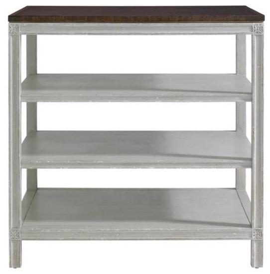 Charleston Regency-Rosette Bedside Table