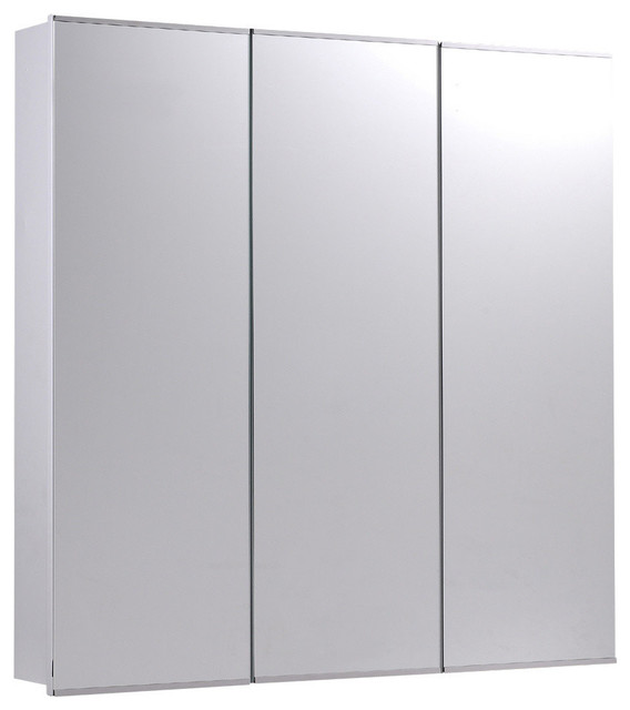Tri-View Series Surface Mounted Three Door Medicine Cabinet - Transitional - Medicine Cabinets ...