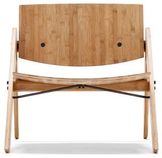 komplett lounge chair we do wood modern sessel von. Black Bedroom Furniture Sets. Home Design Ideas