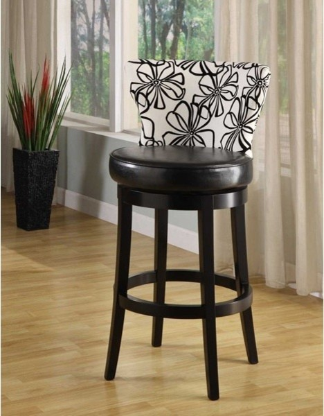 black wood bar stools swivel 2