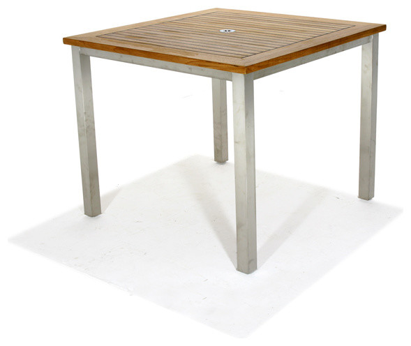 Vogue 36 Teak Square Table Modern Side Tables End Tables Orange County By