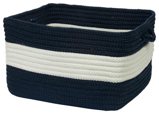 Etonnant Navy Blue Storage Baskets