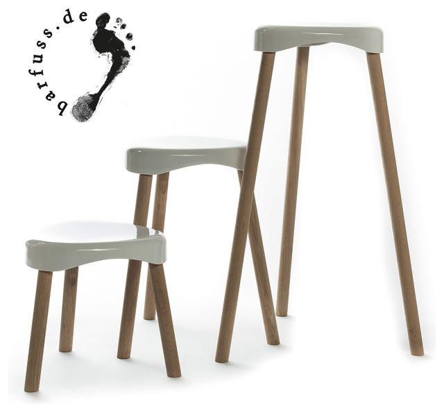 hockerfamilie h3 von barfuss modern barhocker other. Black Bedroom Furniture Sets. Home Design Ideas