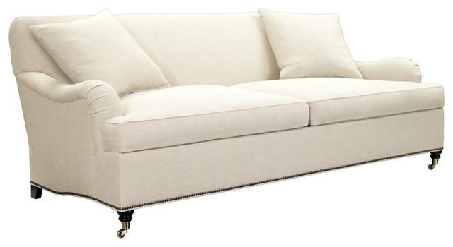 Silhouettes M2m Sofa In Dark Walnut Transitional Sofas