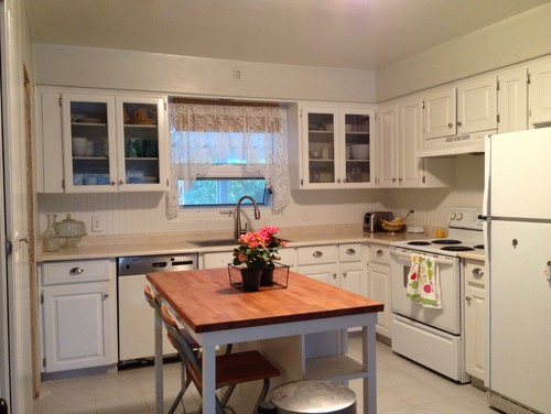 replace cabinets keep granite countertop 1