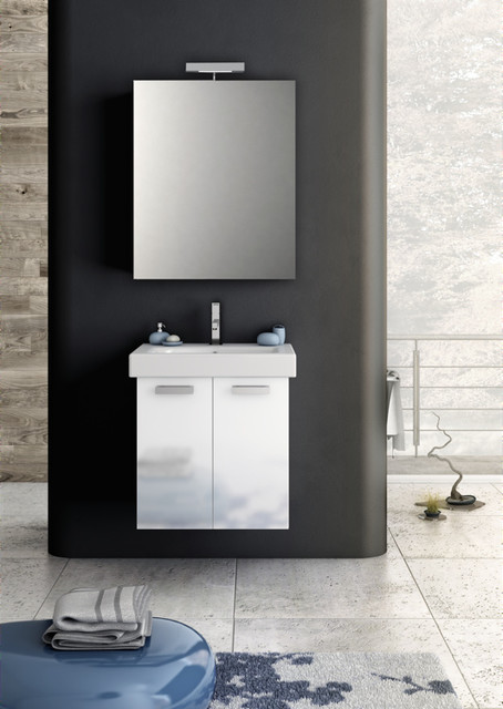 Bathroom Vanity With Sink And Mirror Contemporary Bathroom Vanities And Sink Consoles