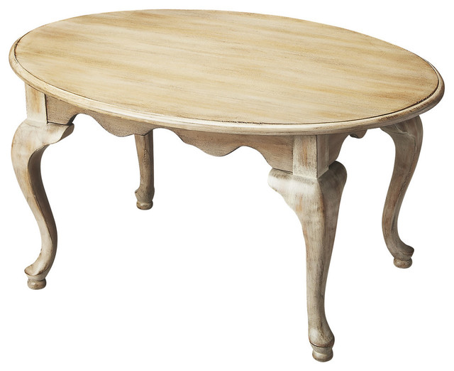 Butler grace driftwood cocktail table traditional coffee tables by designercurios Traditional coffee tables and end tables