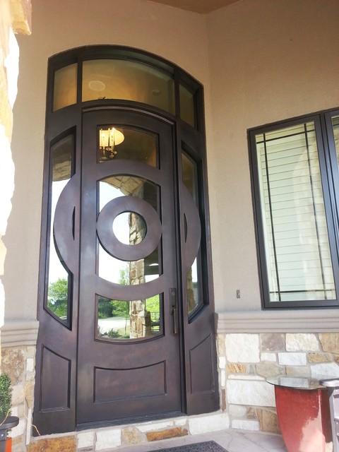 Contemporary Door Modern Front Doors Omaha By