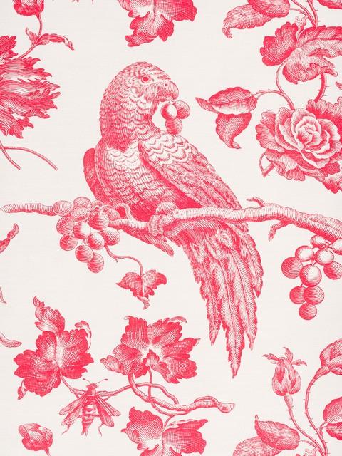 Bird Prints - Curtain Fabric - new york - by Bennison Fabrics