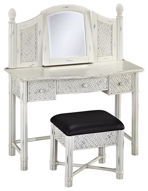 vanity with bench beach style bedroom makeup vanities by