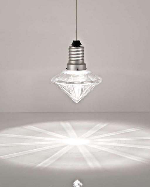 screw in glass pendant light for home decoration diamond. Black Bedroom Furniture Sets. Home Design Ideas